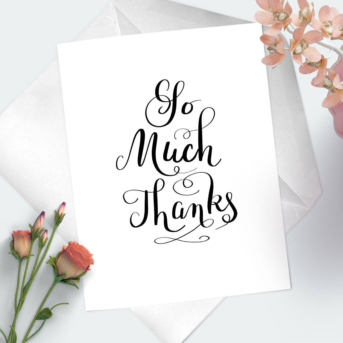 Heartfelt Thank You Card So Much Thanks Message Of Thanks Greeting
