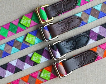 READY TO SHIP  Skinny Belt, Double Square Loop Closure