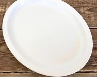 Large Buffalo China Oval Platter