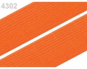 2 cm orange 4302 elastic band