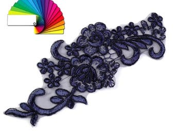 Lace Yoke Applique 8x20 cm