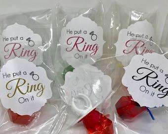 Handmade ring pop Etsy