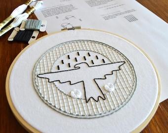 Go Team! Sampler hand embroidery pattern, embroidery sampler, modern embroidery, embroidered patches, PDF pattern, digital download