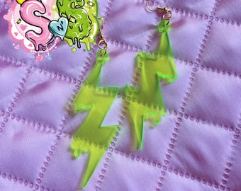 Neon Thunder EARRINGS