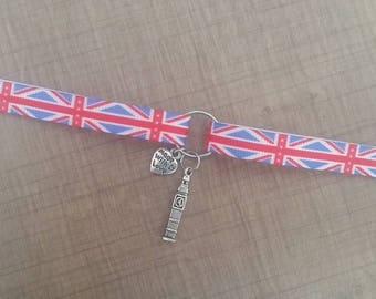 Bracelet ribbon i love London