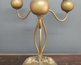 Art Nouveau Whimsical Candelabra
