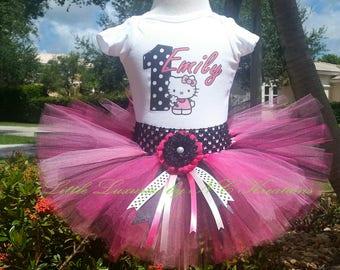 Hello Kitty Birthday Tutu Outfit