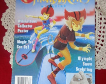 Two ThunderCats Magazine SPRING 1988 and WINTER 1988 , ThunderCat Magazine, Vintage Comic Books, Thundercats, 1980S Comics,