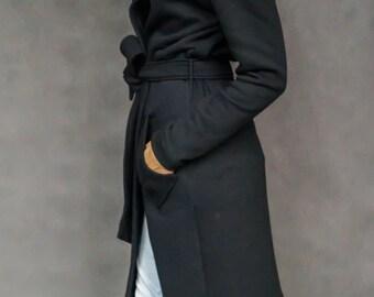 Black Hood coat