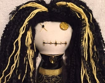 "Creepy n Cute Zombie Doll ~ ""Goldilocks Spider Webs"" Gals (P)"