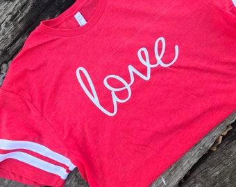 Adult Valentine Shirt; Love Shirt; Cute Valentine Shirt