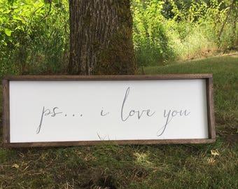 ps. i love you, farmhouse style