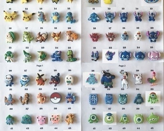 Croc shoe charms, listing #1, 1000+ charms add-on(bracelets, shoes)Jibbitz croc style, jewelry, letters, Moana, Pokemon, Mouse, MU, Stitch
