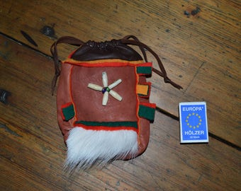 Reindeer pouch, tupacco purse, medicine purse.