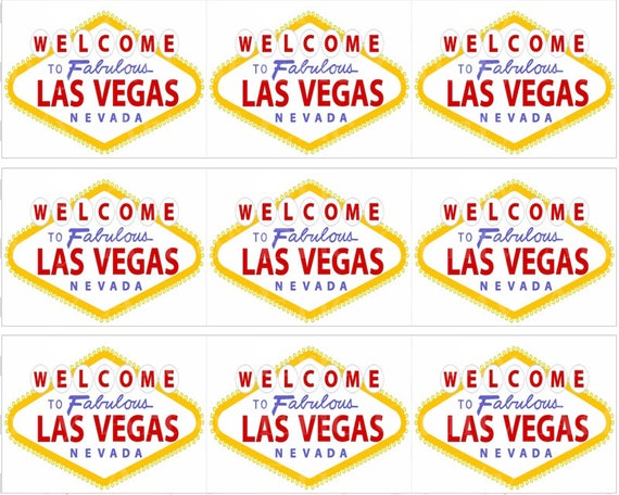 Las Vegas Casino Birthday - Designer Strips - Edible Cake Side Toppers- Decorate The Sides of Your Cake! - D22797