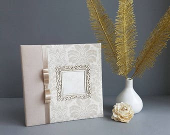 Handmade photo album White