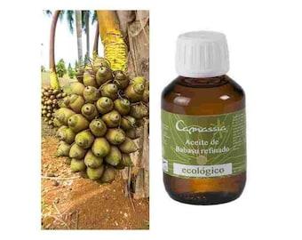 Unrefined BIO babasu oil 100 ml.