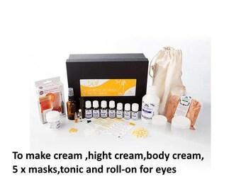 Kit 6 anti-wrinkle cosmetics for mature skin