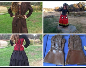 Pirate Costumes, Period, Shakespeare, Reenactments, Costumes, Theatre, Dress Up Trunks,  Pirates, One of a Kind, This Post not for sale!