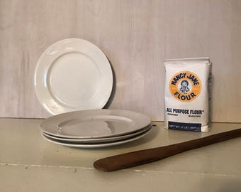Ironstone ~ Ironstone Plates ~ Antique Ironstone ~ White Plates ~ White China ~ Farmhouse ~ White Farmhouse ~ White Decor
