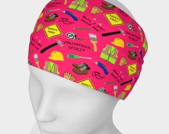 Safety First Construction Volunteer Headband