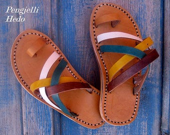Sandals barefoot size 26 leather for girl