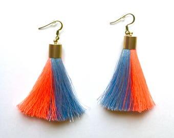 Aster Tassel Earrings