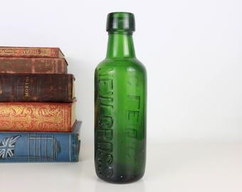 Antique Bottle New Cross - C. Leidig - 20cm