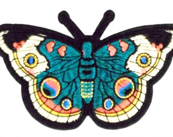 XXL Extra Large 27cm Butterfly Patch Badge Applique