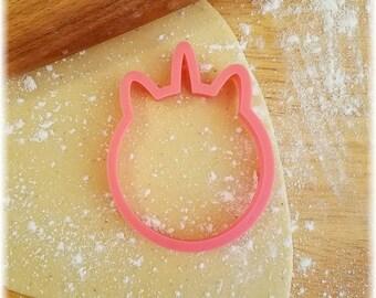 Round Unicorn Cookie Cutter