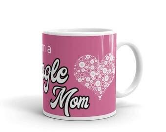BeagleMom Mug - Pink