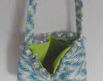 cotton lined fabric bag