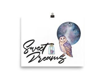 Sweet Dreams Matte Poster