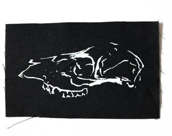 CLEARANCE | Deer Skull | Handmade Patch
