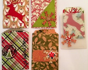 Christmas envelopes and tags
