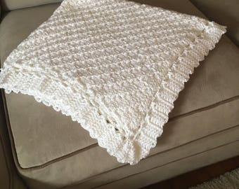 "Baby blanket 36"" x 36"" Ready to Ship!"