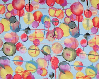 Fabric - Michael Miller - Bubbles - medium weight woven cotton fabric.