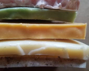 Tester Soap, Himalayan Salt Soap Sample, Soap Samples, Salt Soap, Sample Soap, Tea Tree Soap, Soap Sample Set, Soap Sampler, Sampler Set, EO