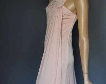 ON SALE Peachy John Marks by Anne Tyrell Vintage Strappy Grecian Goddess Dress