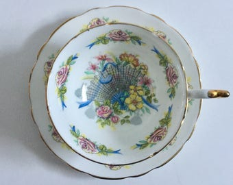 Royal Imperial Bone China Tea Cup & Saucer