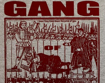 Gang of Four t shirt new S, M, L, XL