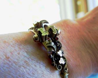 Victorian Clamper Bracelet
