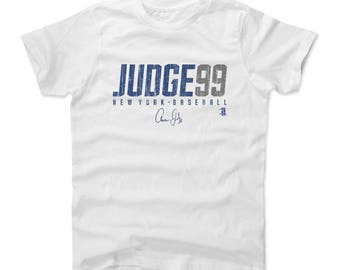 Aaron Judge Judge99 B New York Officially Licensed Toddler and Youth T-Shirts 2-16 years