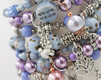 Easter Charm Bracelet Set