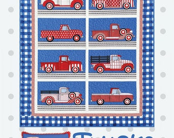 Trucks Quilt Pattern by Amy Bradley