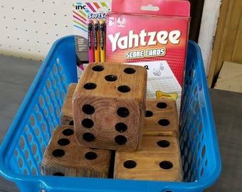 Yahtzee set