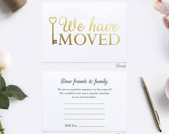 We have move cards (8) - Change of address cards - New home cards OC003