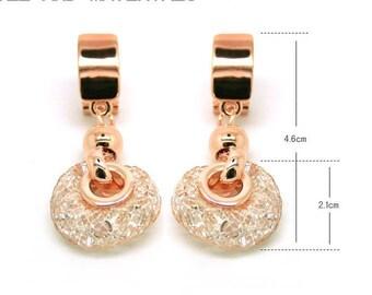 Fashion Earrings  Clip Earrings Weddiing Jewelry Net Wrap Crystal Earrings Twine Earrings