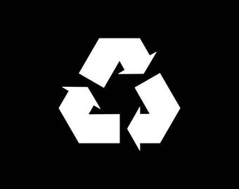 Recycle Decal Recycle Sticker Recycle Symbol Please Recycle Stamp Reuse