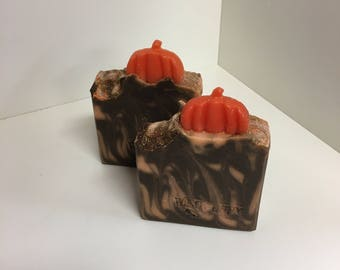 Spiced Pumpkin Soap / Artisan Soap / Handmade Soap / Soap / Cold Process Soap